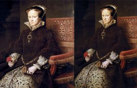 Historians Discover Unfinished Queen Mary Portrait After She Said, 'I Look Fat Here'