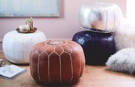4 Expensive Poufs to Cover With Your Shitty Clothes