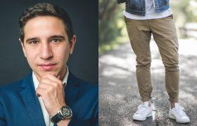 Does He Run A Billion-Dollar Tech Start-Up, Or Is He Just Wearing Sneakers?