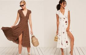 Wrap Dresses That Will Ruin Your Carefree Day with Nip Slip Paranoia