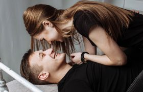Sex Paused Briefly To Get Hair Out of Mouth