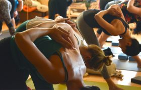 New Yoga Class Just An Hour of Bending Down to See if Your Period Has Soaked Through Your Pants