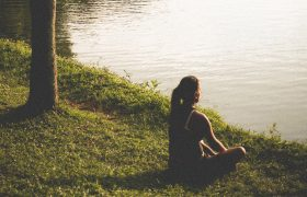 How To Stare Dramatically Across A Pond Until He Texts You Back