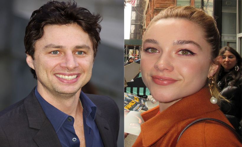 How to Stop Worrying About Florence Pugh Having to Explain Memes to Zach Braff