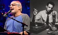 side by side pictures of donald fagen