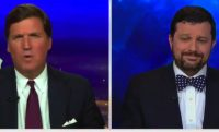 tucker carlson and guest on tv