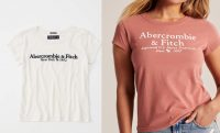side by side two abercrombie shirts