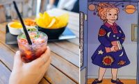 cocktails next to ms. frizzle