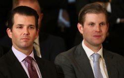 don junior and eric trump