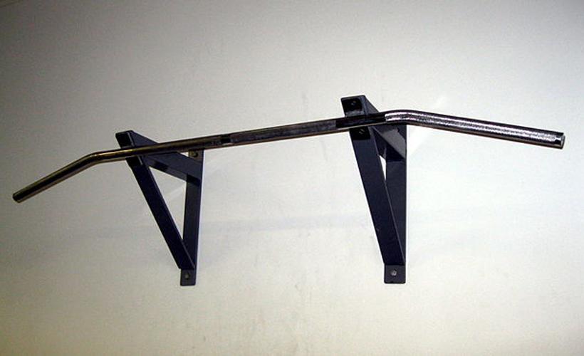 wall mounted pull up bar