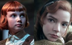 queens gambit - child and adult beth harmon