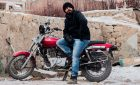 Wow! This Man Fell Off a Motorcycle Because He Wouldn't Touch Another Man's Hips